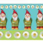 Zu Weihnachten: Fußmatte Gartenzwerge im fröhlichem Design ein prima Geschenk