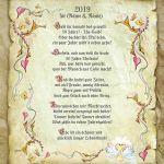 Zu Weihnachten: Urkunde zur goldenen Hochzeit ein prima Geschenk