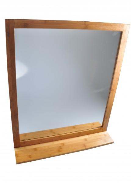 Badezimmerspiegel Bambus Wandspiegel Spiegel Holz Schminkspiegel Landhausstil  eBay