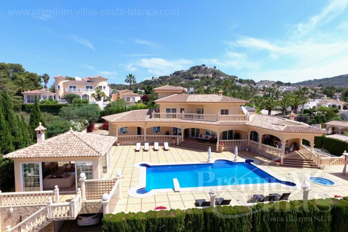 LuxusImmobilien Calpe Costa Blanca Spanien Gelegenheit Luxusvilla der Extraklasse mit