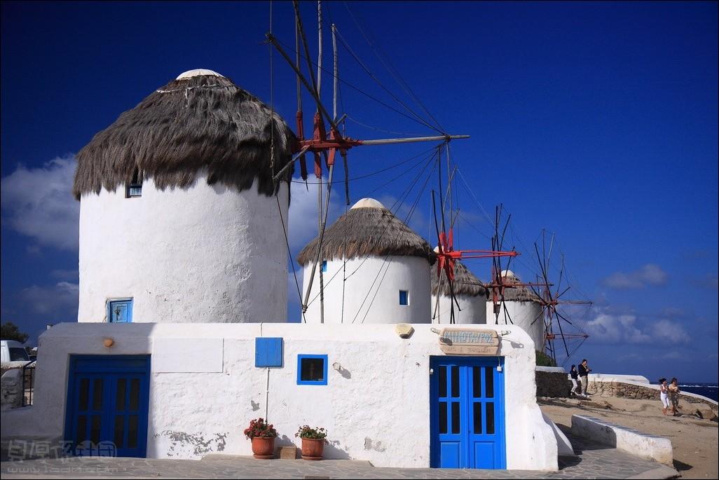 希臘 愛琴海小島-米克諾斯