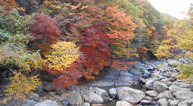Jirisan…Magnificent Fall Colors