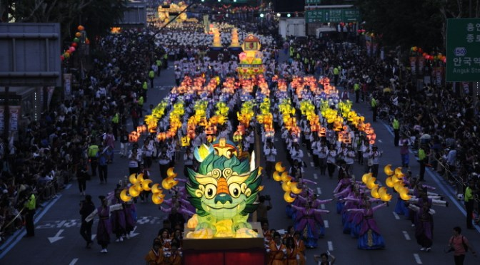 Lotus Lantern Festival Seoul