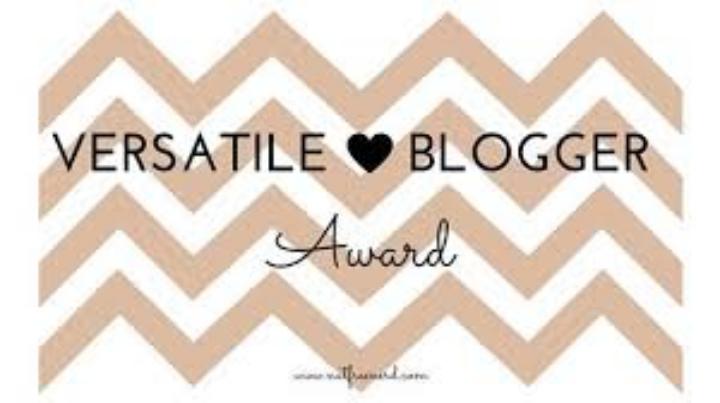 The Versatile Blogger Award!