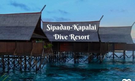 Fearless at the Beautiful Sipadan-Kapalai Dive Resort