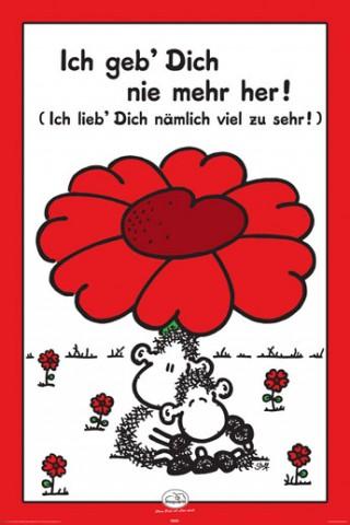 Sheepworld  Ich Lieb Dich Zu Sehr  Poster  online im