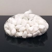 1kg White Decorative Stones for Vases Natural Pebbles ...