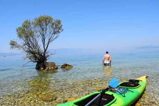 Criques sur le Lac d'Ohrid