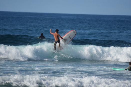 Surfer de Santa Barbara