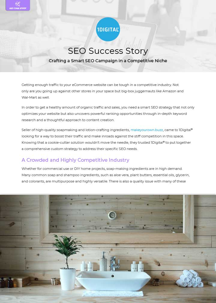 Crafting a Smart SEO Campaign in a Competitive Niche