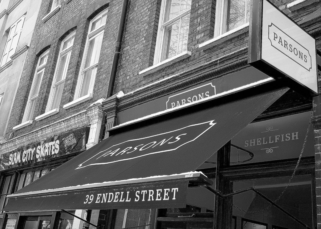 If you're looking for a London fish restaurant, look no further than Parsons in London's Covent Garden.