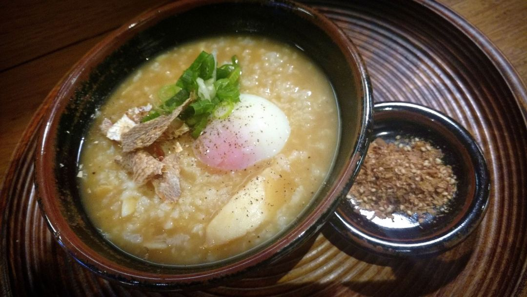 Koya's version of kedgeree provides a unique twist on breakfast