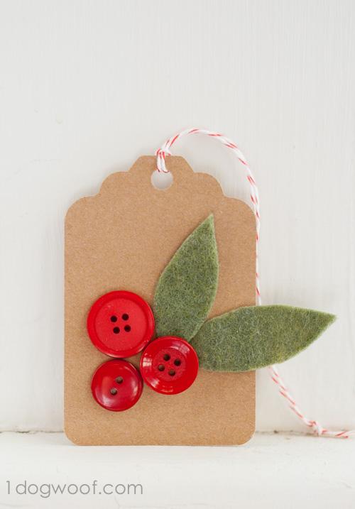 homemade christmas gift tags