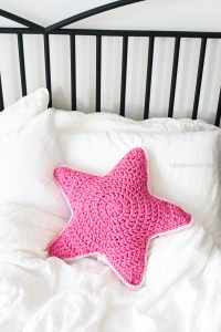 Sirius the Crochet Star Pillow - One Dog Woof