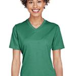 Woman's dark green