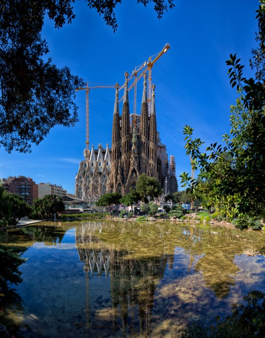 Sagrada Fmailia - Barcelona (Gaudi)