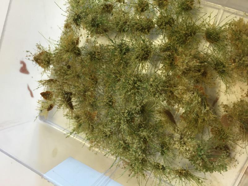 Fertige Grasbüschel in Dose