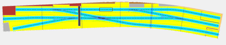 Gleisplan der Papierfabrik