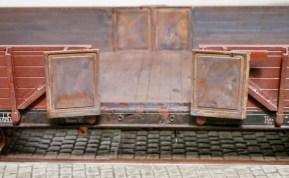 Rostiger Güterwagen