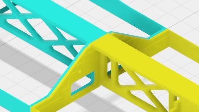 Ein Modulkopfprofil für die Kleinbahn nach Vorbild