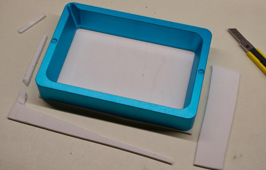 LCD Schutz zuschneiden
