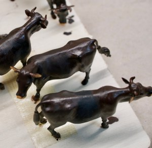 3D gedruckte Rinder