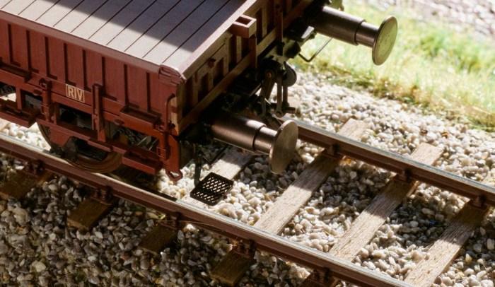 Rangierertritt an Schnellenkamp Güterwagen