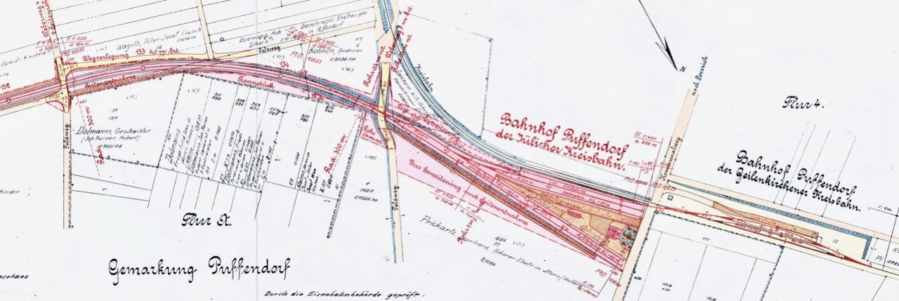 Gleisplan Puffendorf