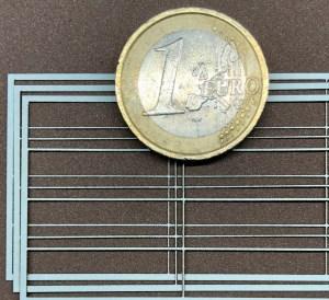 Laserparameter für Fensterrahmen