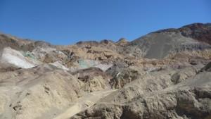 Death Valley, Artist Palette