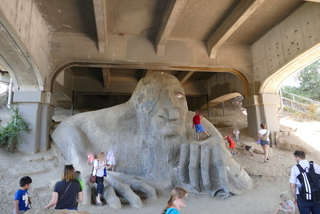 Fremont Troll Seattle