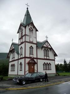 Husavik et sa très belle église