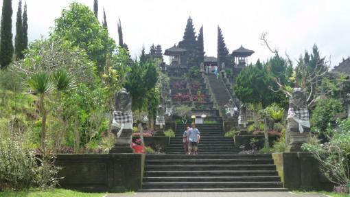 Le temple de Besakih, Bali