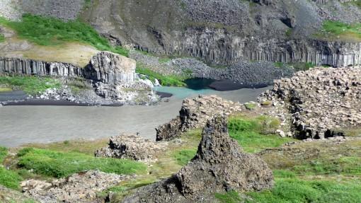 Randonnée Dettiffoss-Asbyrgi