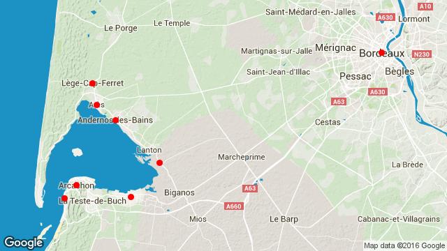 Road trip Bassin d'Arcachon
