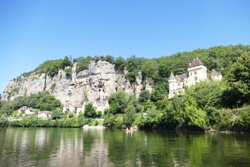 La Roque-Gageac, balade en gabare