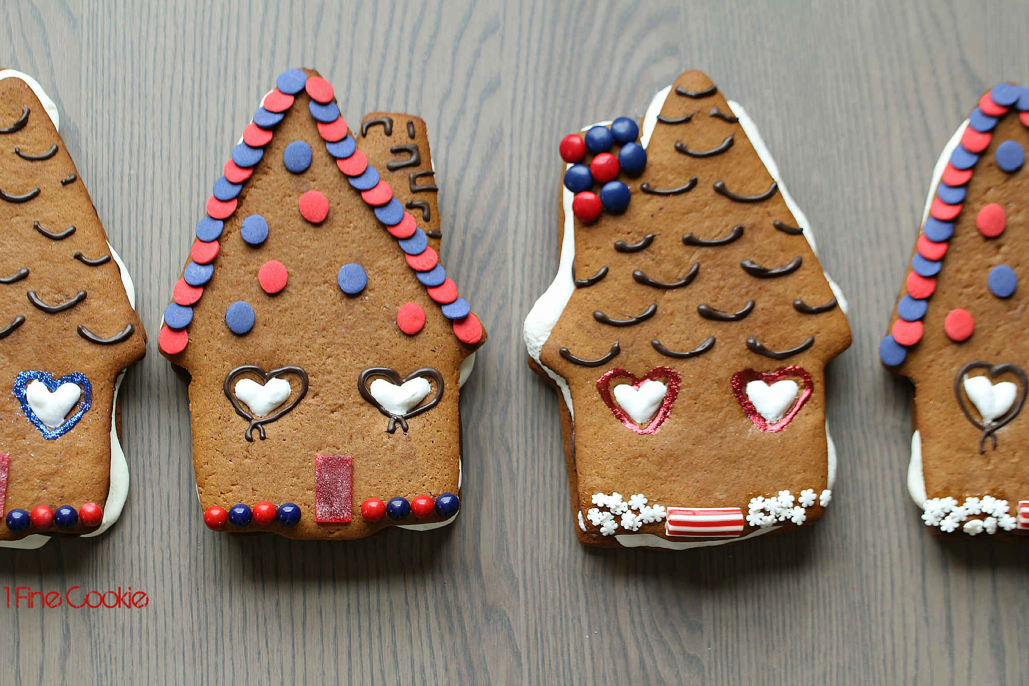Gingerbread S More Houses With Boozy Eggnog Marshmallow