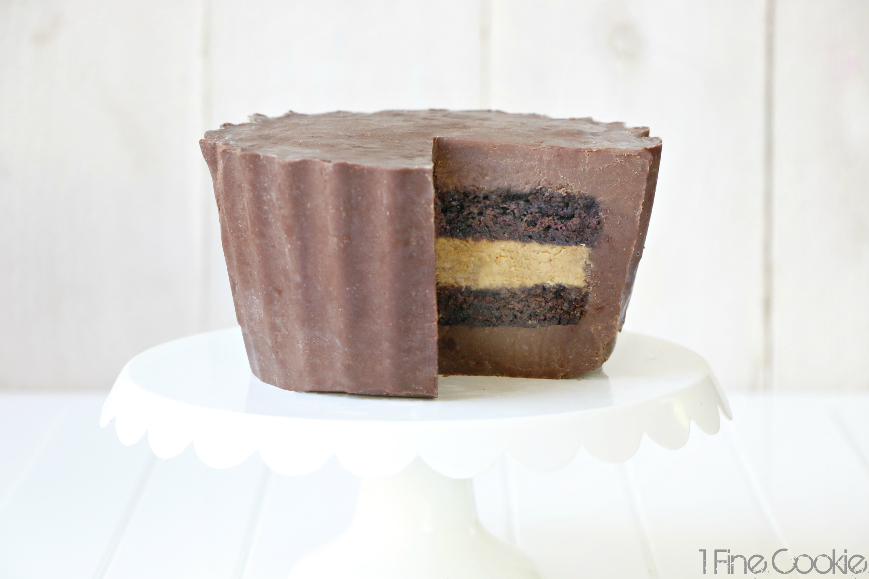 Video Giant Peanut Butter Cup Cake Recipe Plus A Giveaway