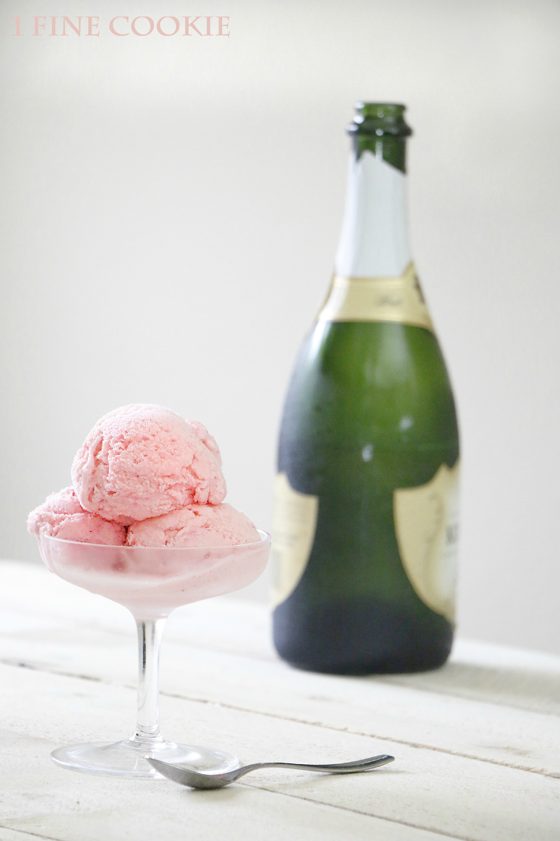 Pink Champagne Ice Cream  My blog