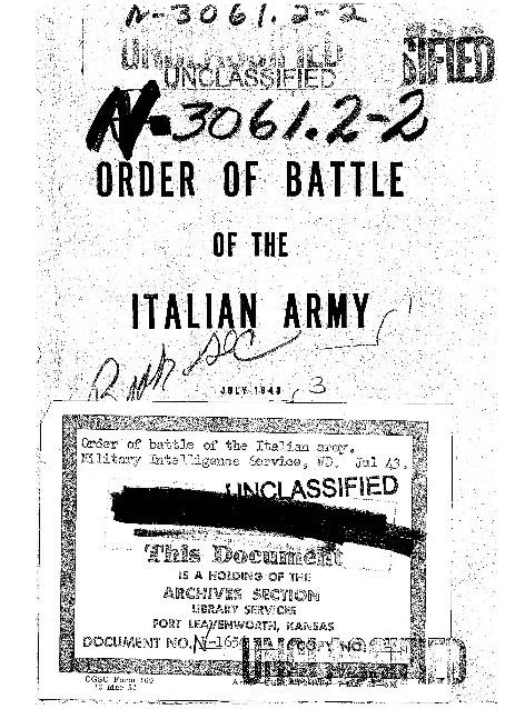 Cd Italia Armamenti Leggeri