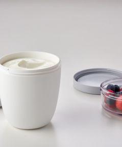 Desiatový pohár na polievku / jogurt  ružový