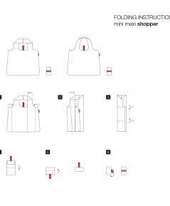 Skladacia nákupná taška Reisenthel Stonegrey