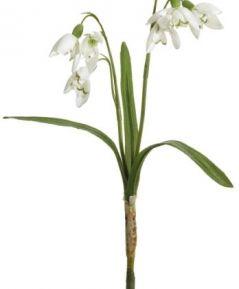 Umelý kvet - snežienky