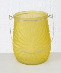 svietnik-skleneny-mela-matny-zlty-14cm
