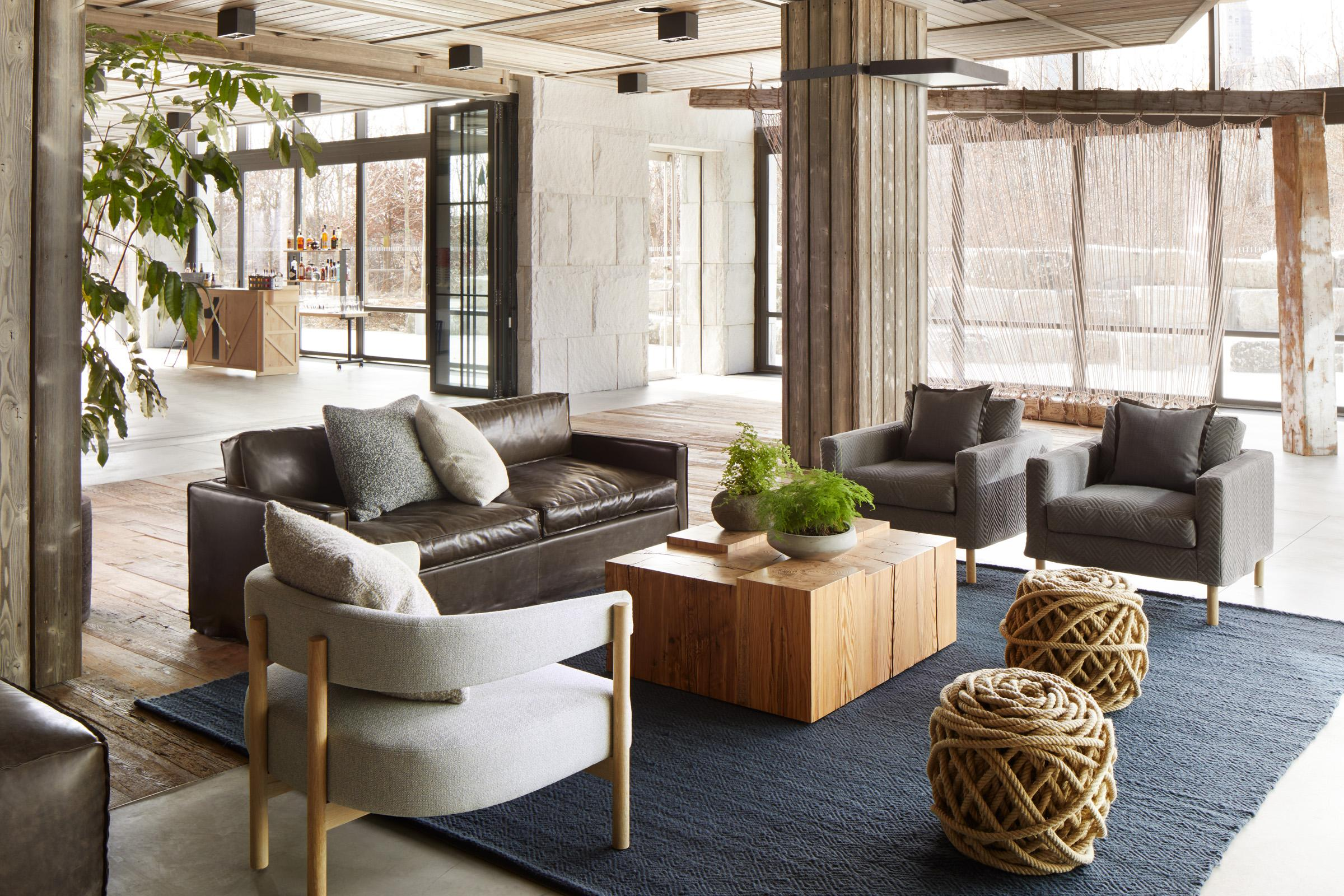 living room furniture brooklyn sets for uhuru 1 hotels at hotel bridge our design embraces local community the history of neighborhood and natural surroundings