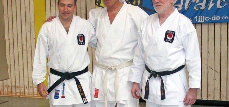 Franz Bork – Urgestein des Deutschen Karate – ist tot