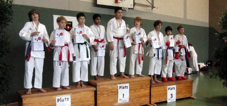 Karate Landesmeisterschaft der Kinder und Schüler 2011