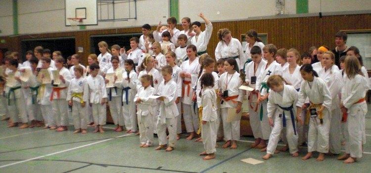 6. Kinderlehrgang mit Kata-Turnier beim TV Asseln 2009