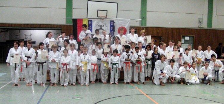 7. Kinderlehrgang mit Kata-Turnier 2010