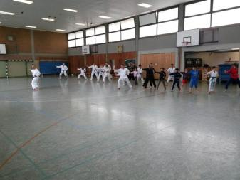 Trainingscamp Karate 2014